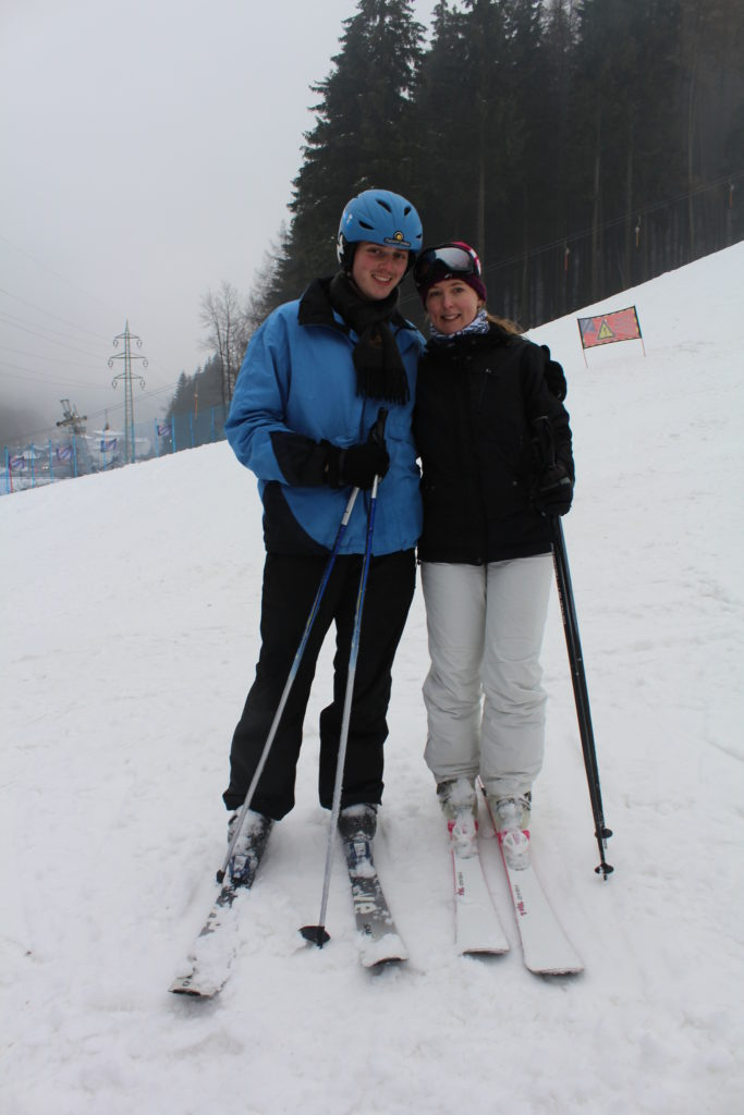czech republic skiing learning